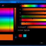 Okno dialogowe wyboru koloru